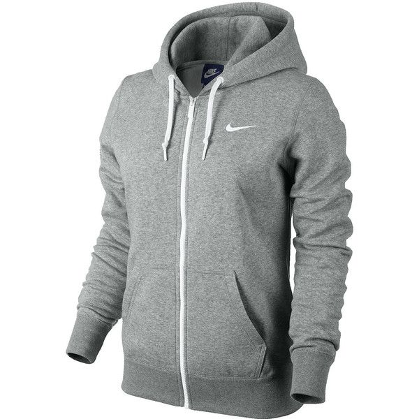 Grey Fleece Zipper Hoodie