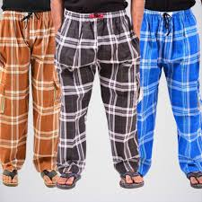 Pack Of 3 Night Trousers