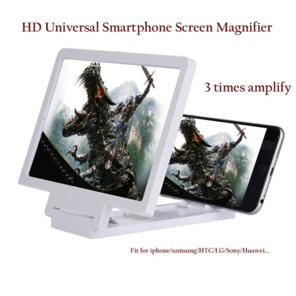 3D Mobile Phone Screen Magnifier