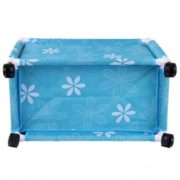 CLOTHES BASKET WITH WHEEL-1