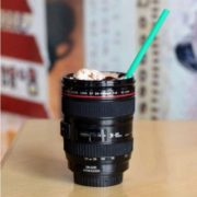Camera Lens Shaped Coffee Mug-1