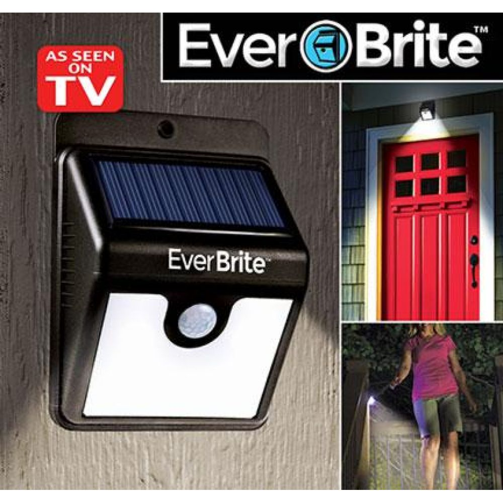Ever Brite Motion Activated LED Solar Light Black Price in Pakistan