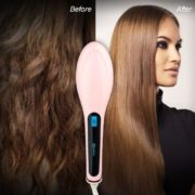 Fast Hair Straightner Brush-2