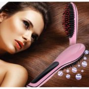 Fast Hair Straightner Brush-3