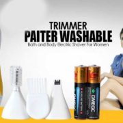 Latest Paiter 3in1 Electric Lady Shaver-1