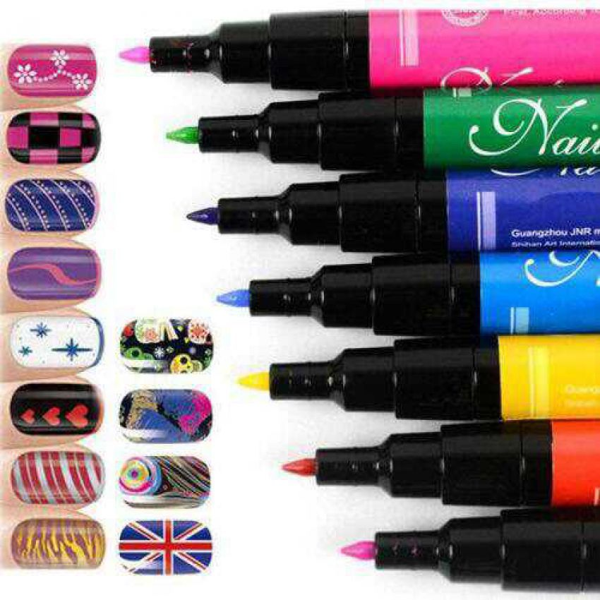 Buy Nail Art Pens Set In Pakistan Buyoye Pk