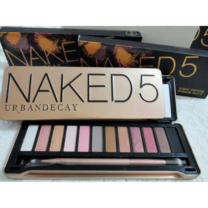 Buy Naked 5 Eye shadow Palette in Pakistan at Low Price ...