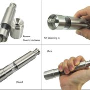 Stainless Steel Pepper Grinder-2