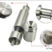 Stainless Steel Pepper Grinder-4