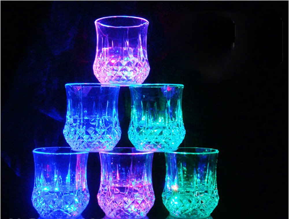 Buy Water Activated Led Light Up Flashing Rocks Glass In Pakistan Buyoye Pk