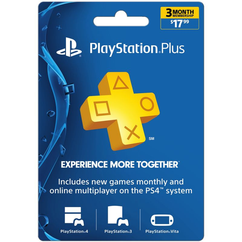 3 Months PlayStation Plus Membership USA