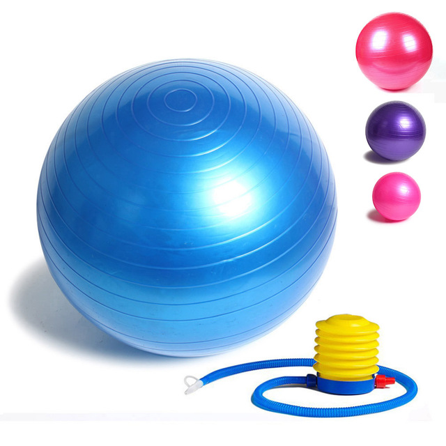 Exercise Gym Ball With Filling Pump in Pakistan