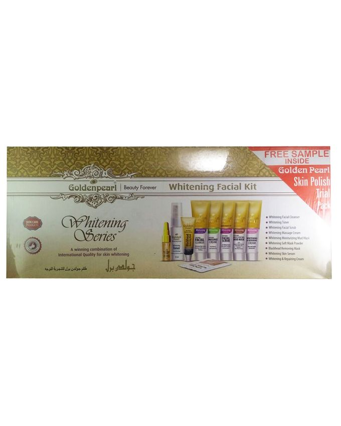 Golden Pearl Whitening Facial Kit Price in Pakistan