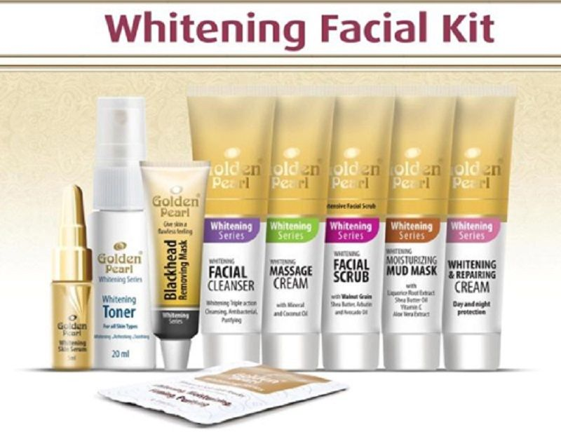 Buy Golden Pearl Whitening Facial Kit In Pakistan Buyoye Pk