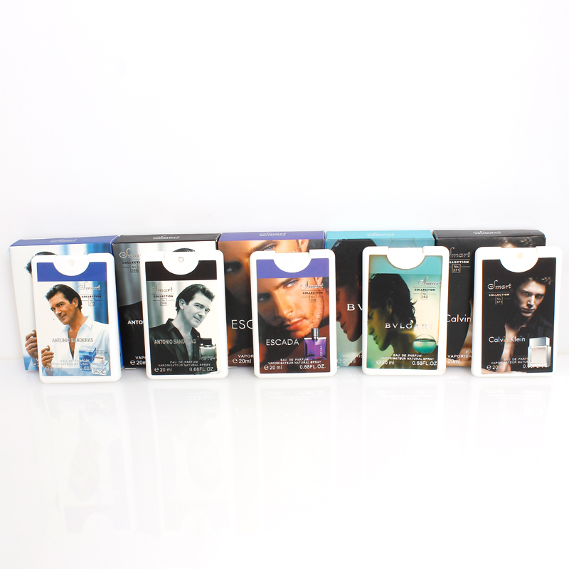Pack of 5 Pocket Perfumes for Men