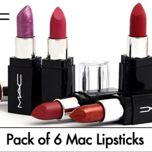 Pack of 6 Mac Lipsticks in Pakistan