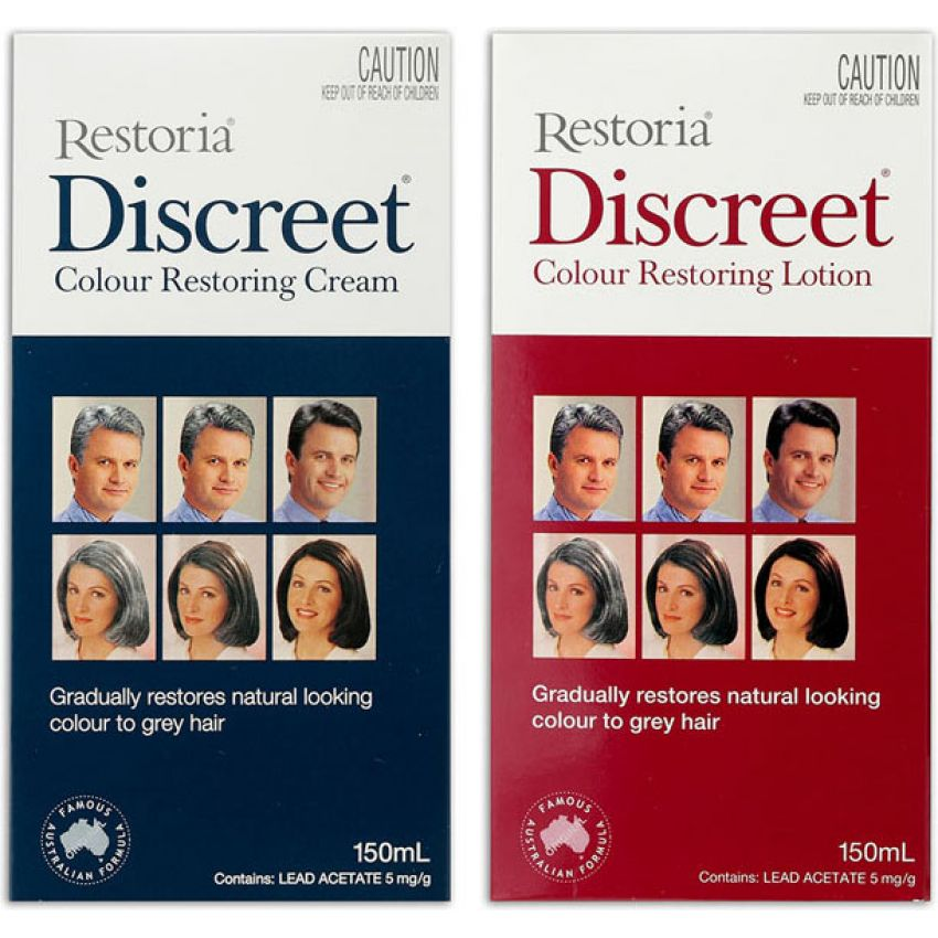 Discreet Hair Color Restoring Cream in Pakistan