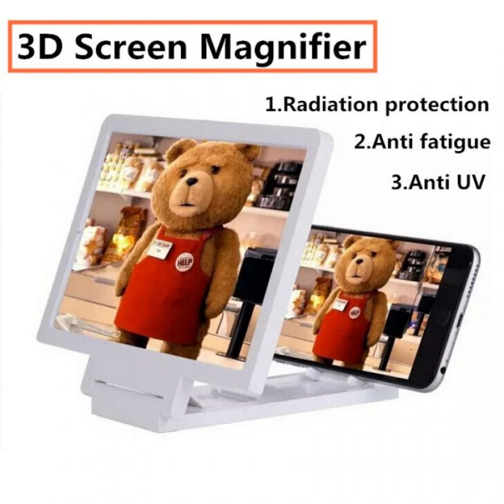 3D Mobile Screen Magnifier With Speaker in Pakistan