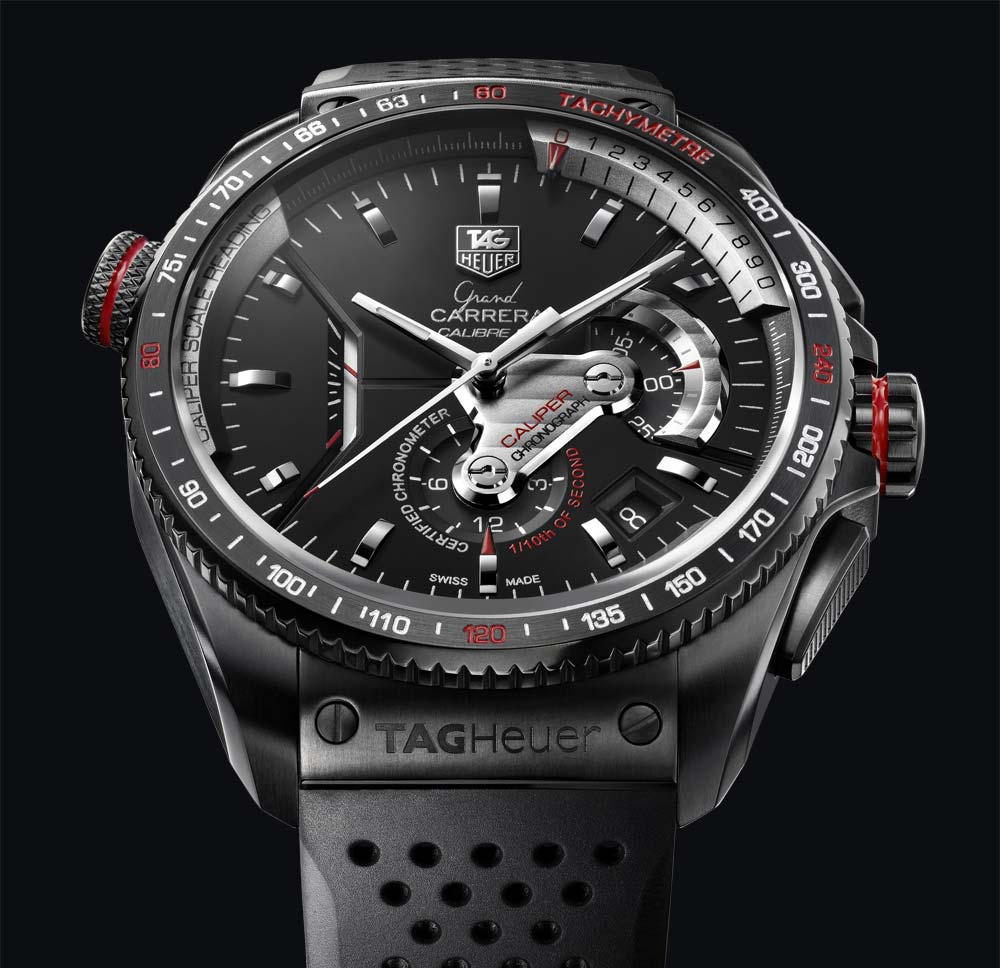watch tag black carerra large product with watches date carrera calibre heuer zoom day