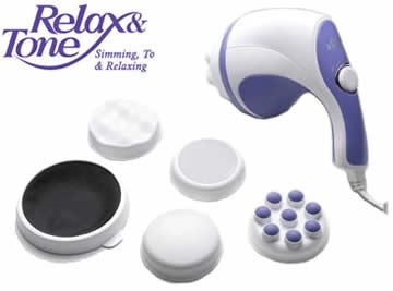 Relax Spin & Tone Body Massager in Pakistan