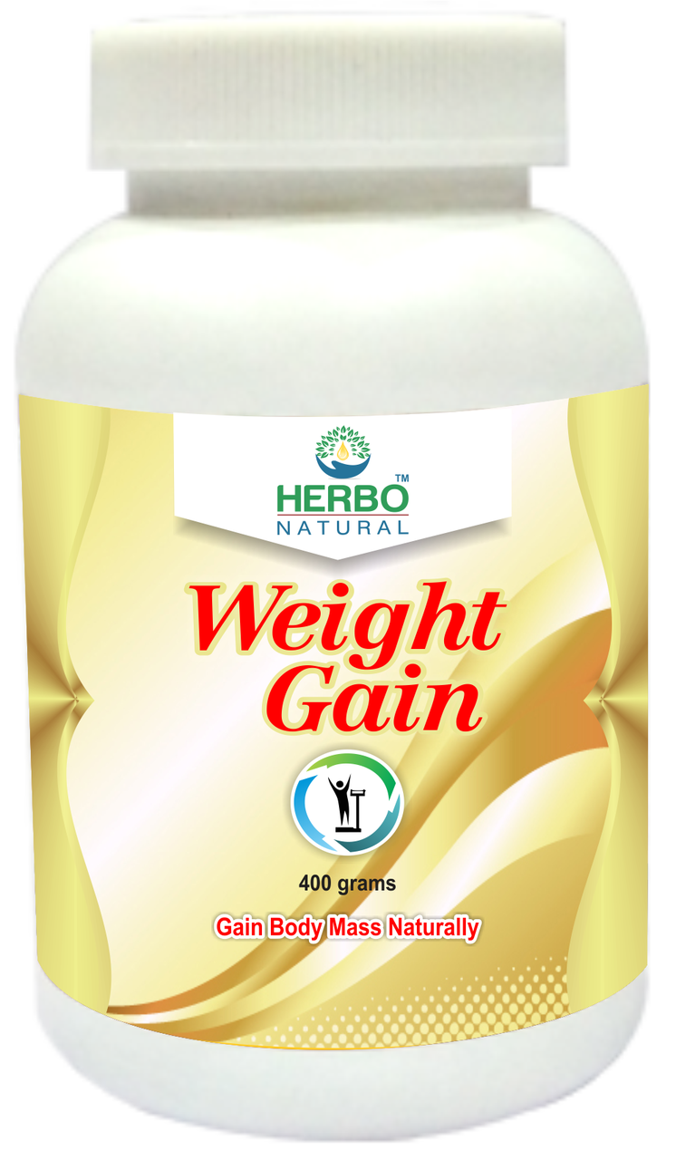 Herbo Natural Weight Gain Powder - 400g in Pakistan