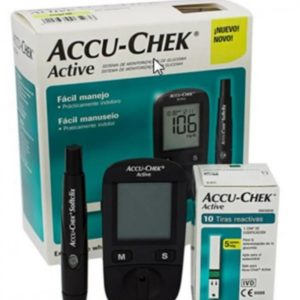 Accu Chek Performa Glucometer with 10 Test Strips