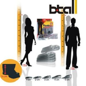 Elevate 5cm Al Instante BTall Shoes Insoles in Pakistan