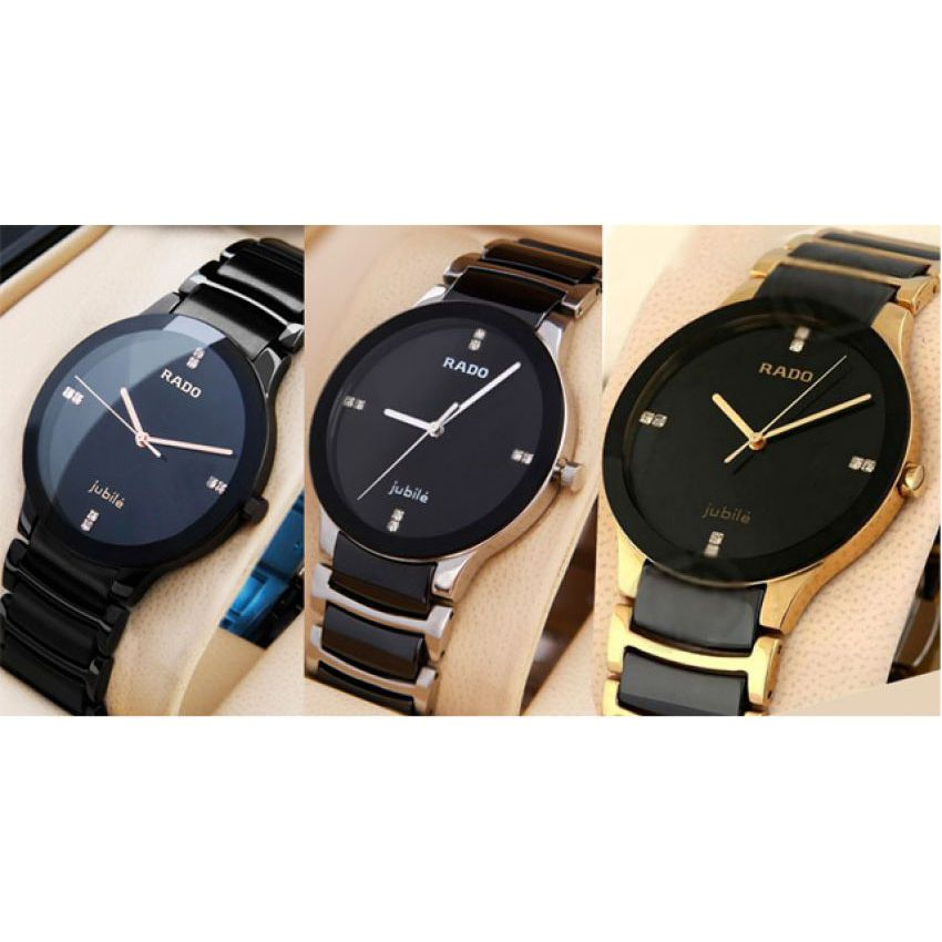Buy pack of 3 rado jubilee watch for men with date in pakistan for Jubilee watch