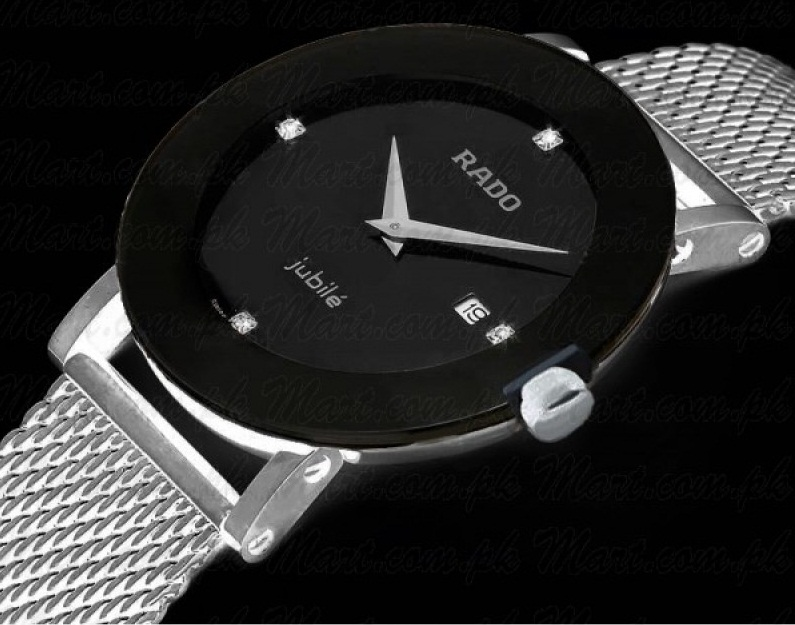 Rado Mesh Chain White Dial Watch For Men in Pakistan