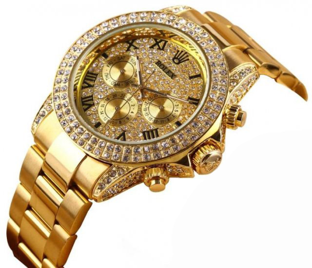 bezel ii bkro yellow watches steel and rolex fluted product datejust gold