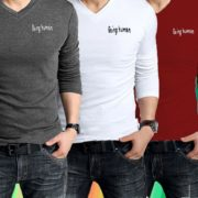 Thumb_PACK OF 4 BEING HUMAN FULL SLEEVES T-SHIRTS