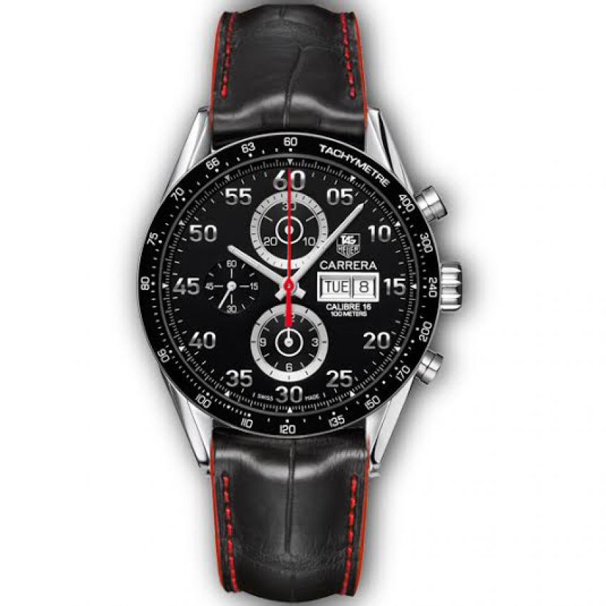 Tag Heuer Carrera with Leather Strap in Pakistan