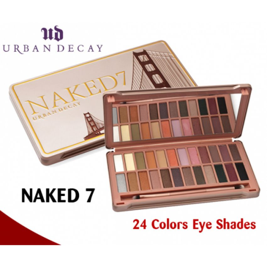 Naked 7 Urban Decay 24 Eye Shades in Pakistan
