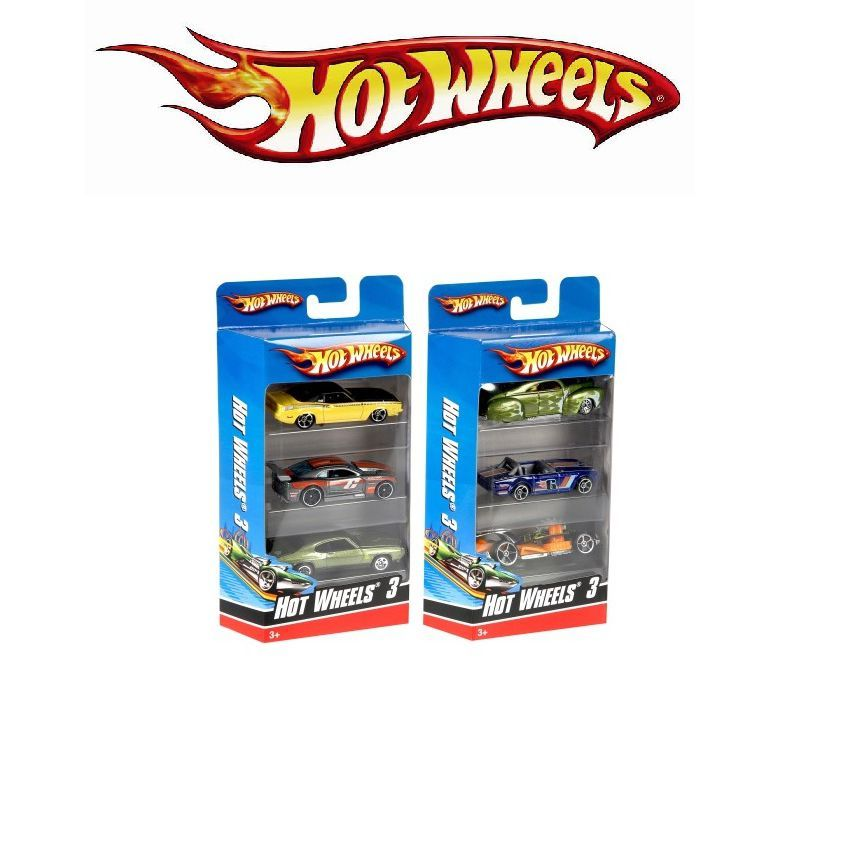 Buy Original Hot Wheels 3 Die Cast Cars Set In Pakistan