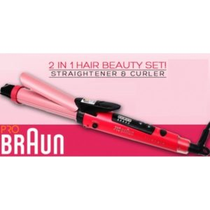 Buy Braun 2 In 1 Hair Curler Straightener In Pakistan Buyoye Pk