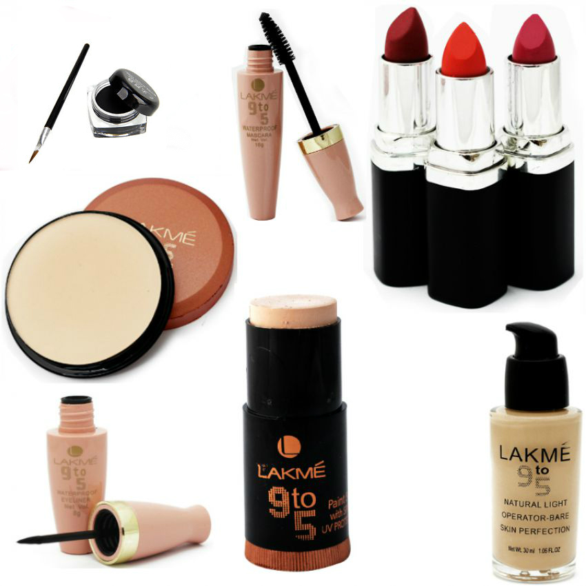 Combo Of 9 Lakme Products in Pakistan