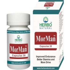 Herbo Natural MorMan 30 Capsules in Pakistan