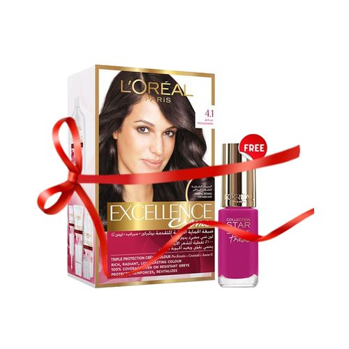 L'Oreal Paris Nail Color with Excellence Creme 4 in Pakistan