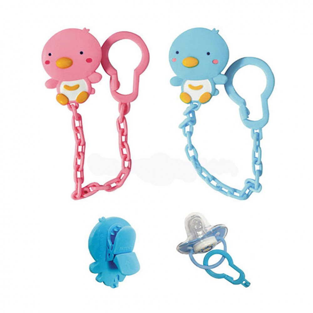 Pack of 3 Pacifier with Chain in Pakistan