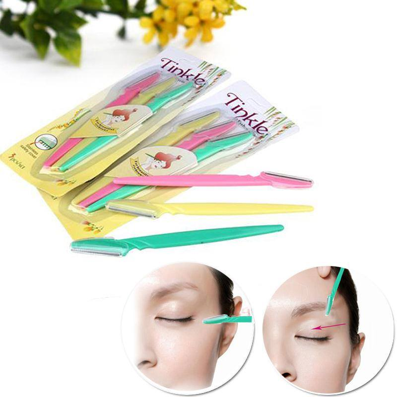 Pack of 3 Tinkel Eye Brow Razor