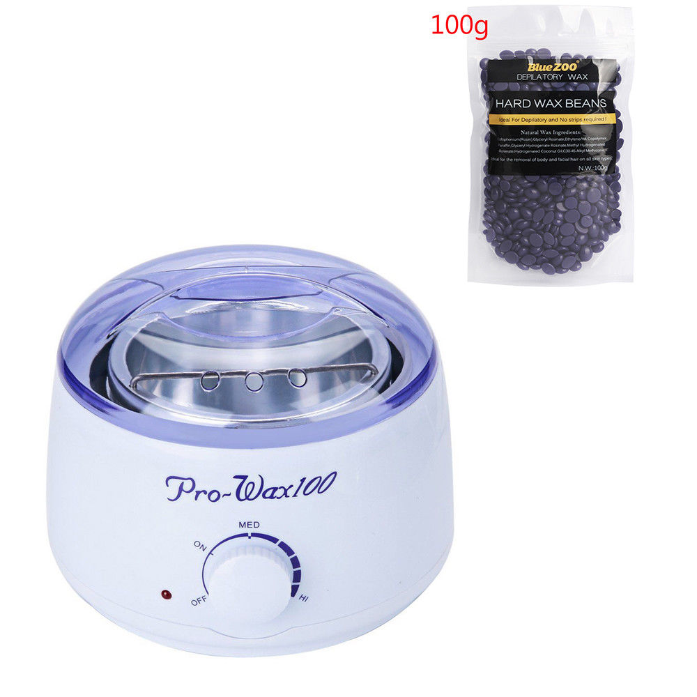 Professional Wax Pot & Hot Wax Beans 100g in Pakistan