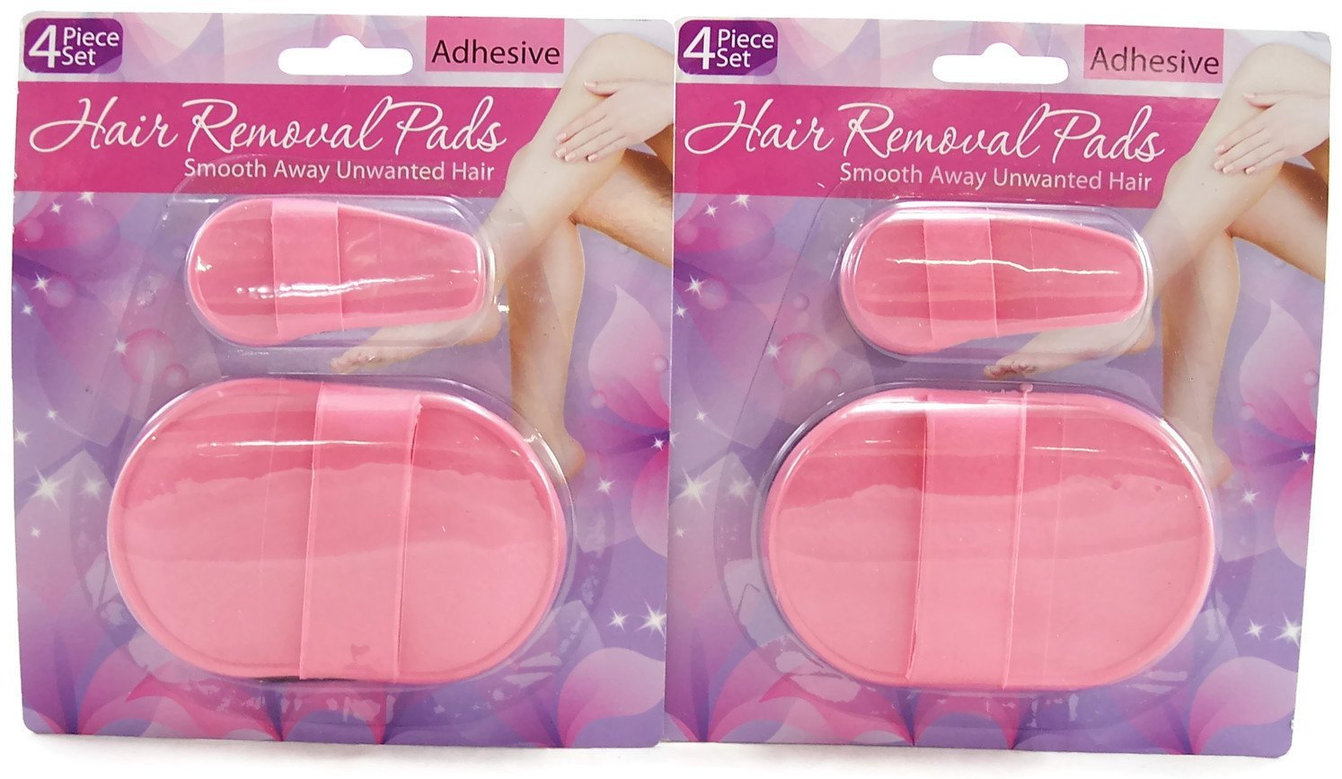 Pack of 2 Hair Removal Pad in Pakistan