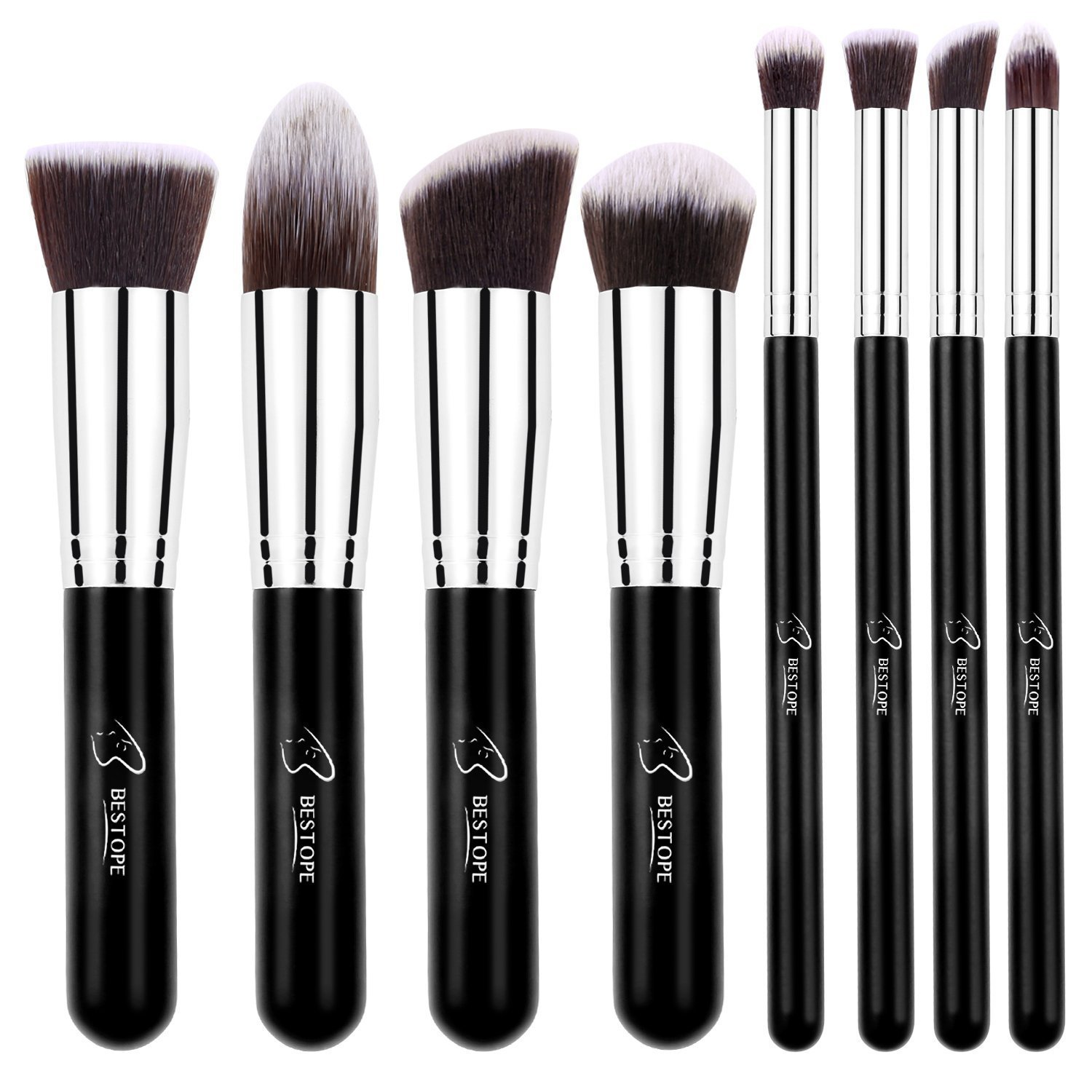 Bestope 8 Pieces Makeup Brush Set in Pakistan
