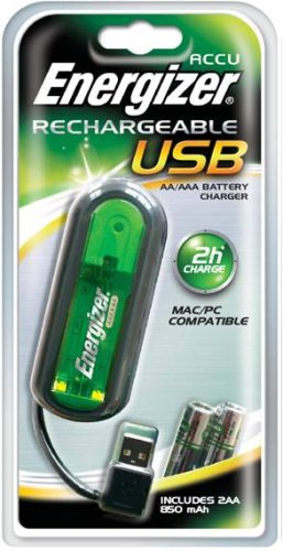 Energizer USB Cell Charger for AA AAA Size