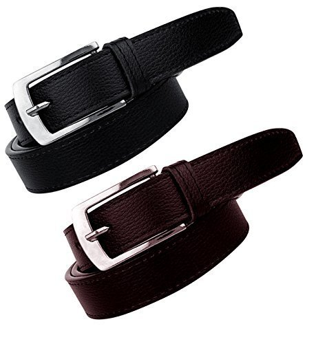 Pack of 2 Genuine Leather Belts for Men in Pakistan