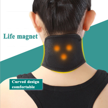Self Heating Magnetic Therapy Tourmaline Neck Guard in Pakistan