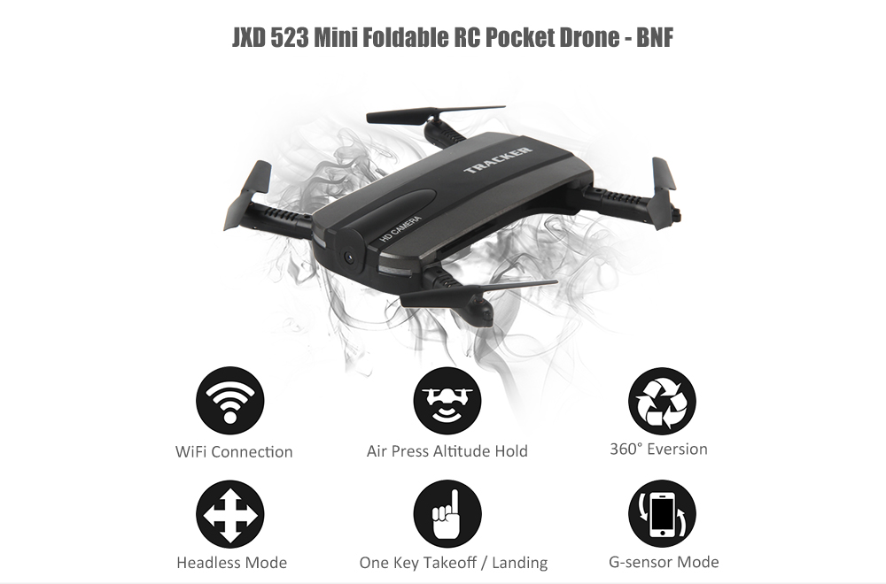 Wifi Selfie Drone Foldable Mini Rc Quadcopter Price in Pakistan